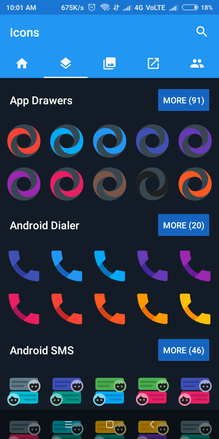 nova launcher icon packs