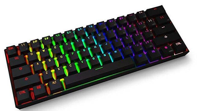 e5fa2063322 Anne pro bluetooth wireless LED mechanical backlit keyboard