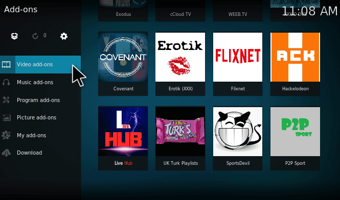 P2P Add-on for Kodi Installation Guide