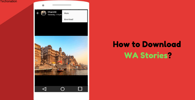 download whatsapp stories on android
