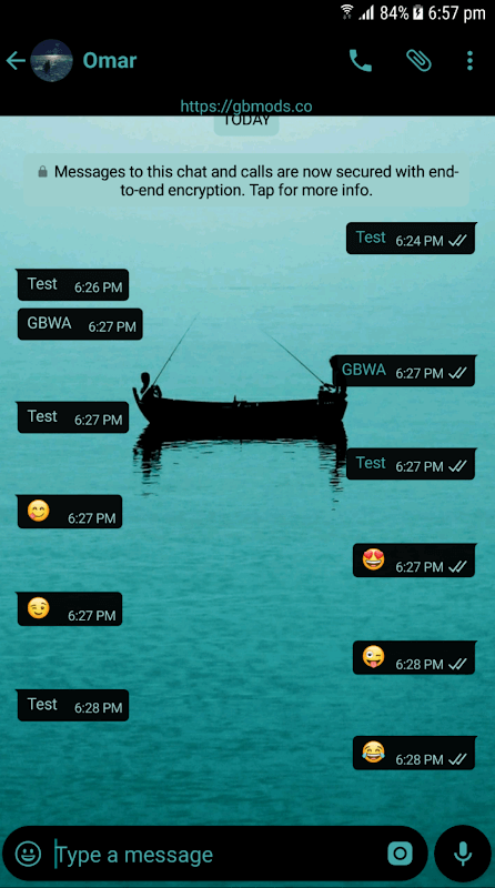 gb whatsapp themes