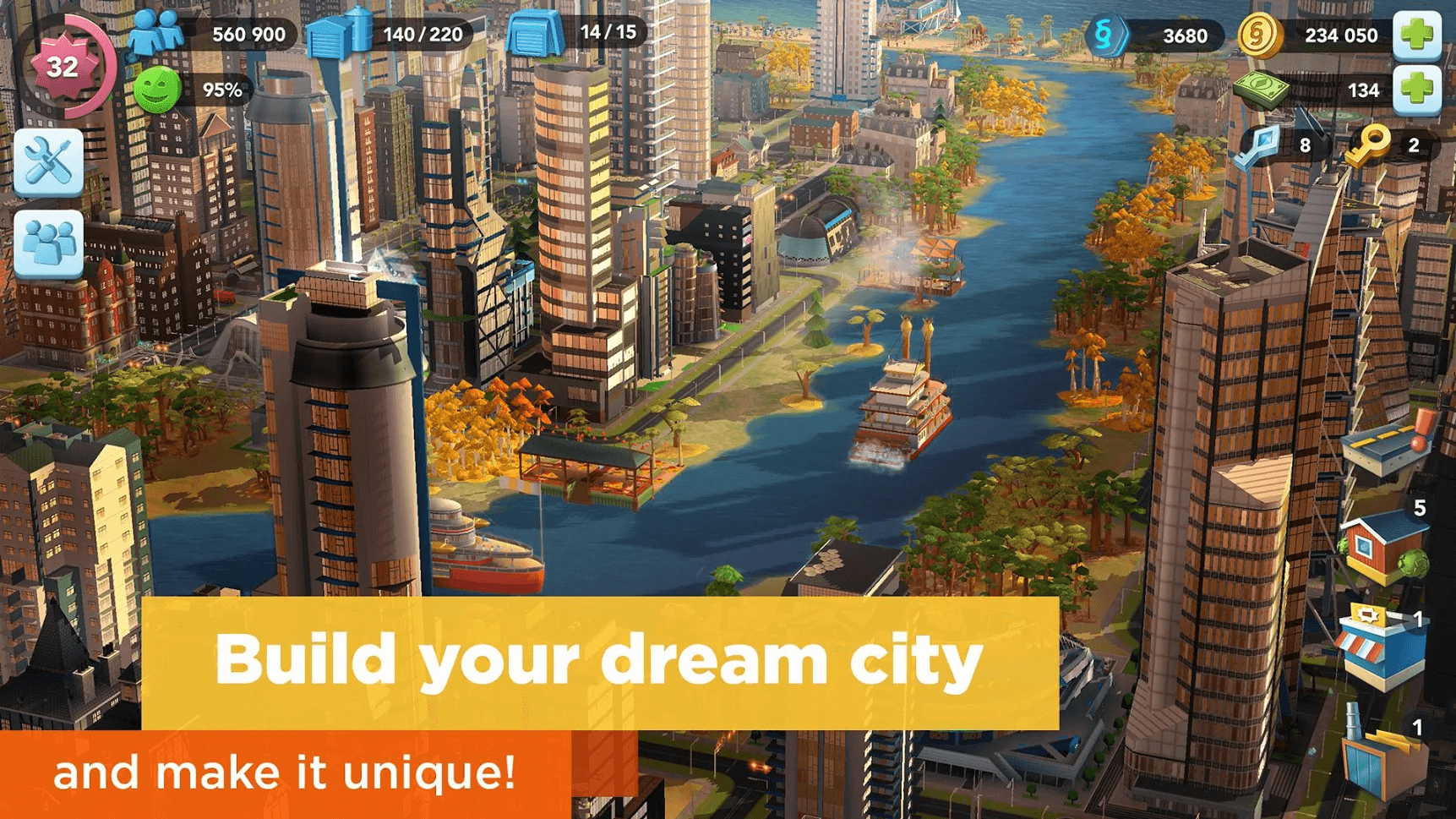 best city builing games