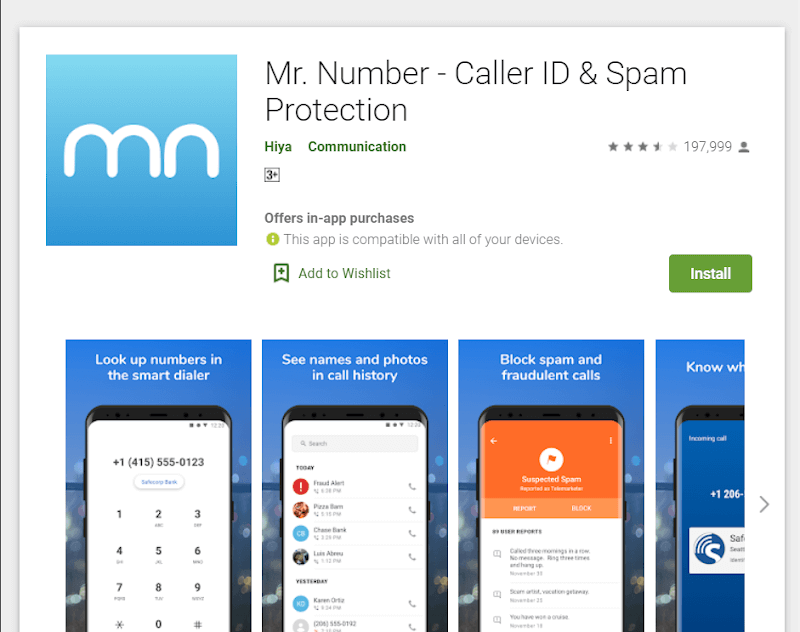 similar apps like truecaller