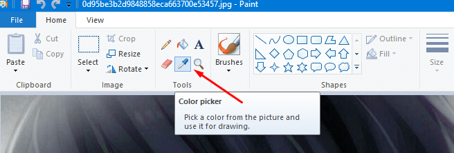 color picker from images